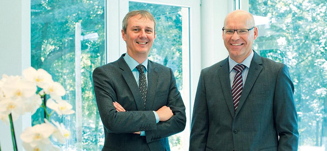 Portrait: Martin Gerwens und Frank Lagemann